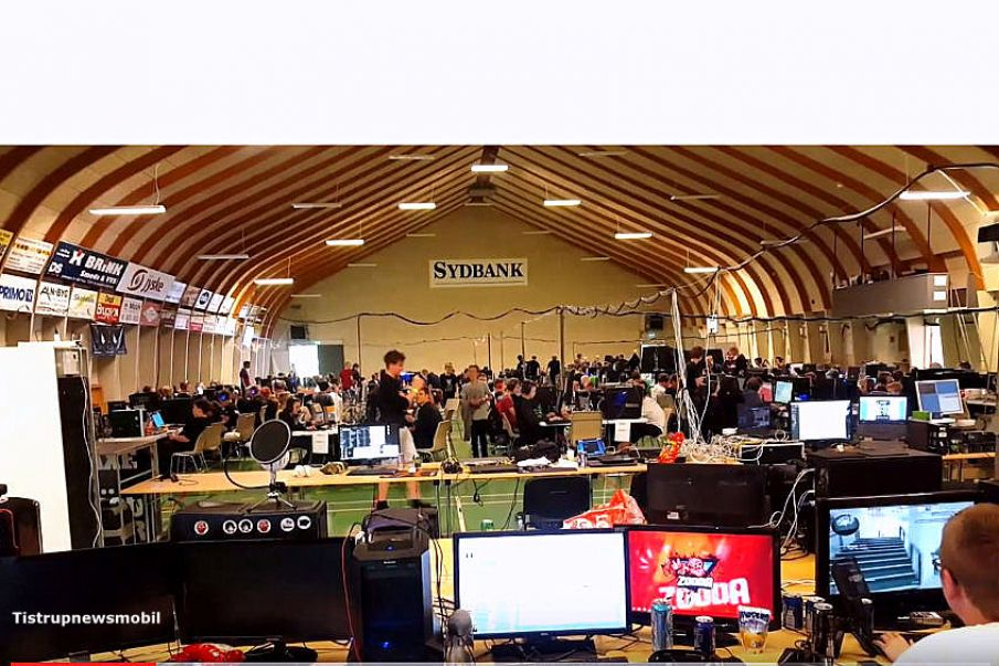 Lan Party i Tistrup - En tilfreds centerleder