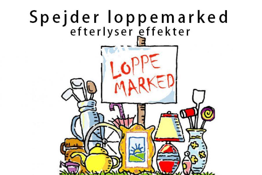 Tistrupspejdernes Loppemarked