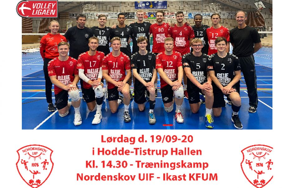 top volleyball i Hodde-Tistrup Hallen