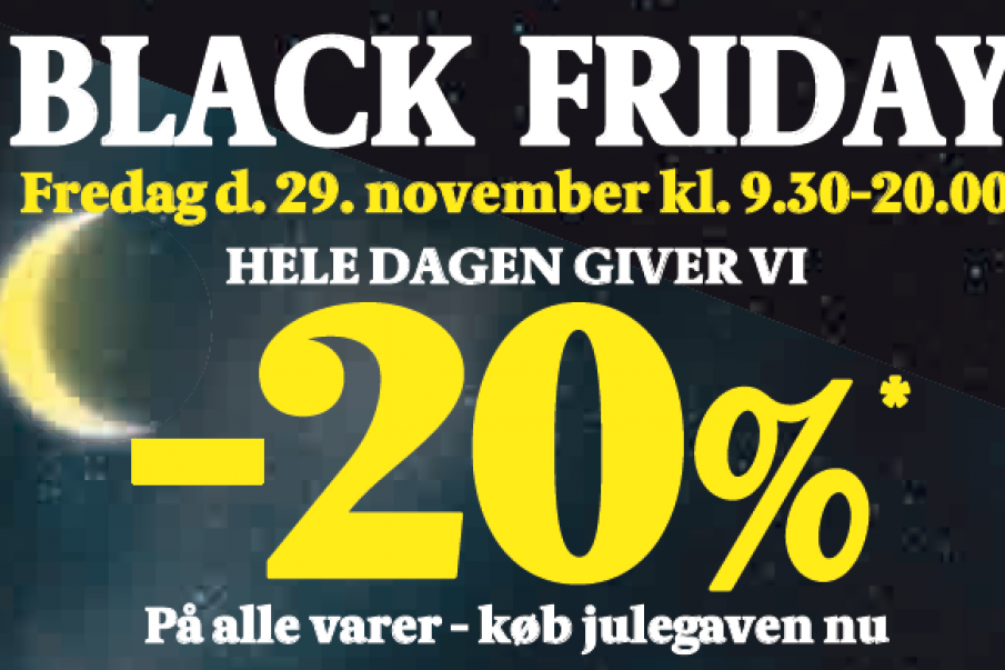 Black Friday i Tistrup